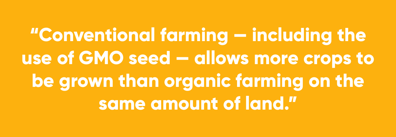 Organic Farming pull quote